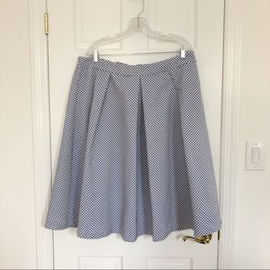 ELOQUII Studio Midi Skirt